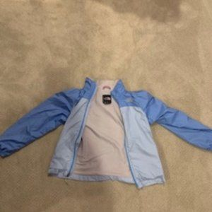 Girls Large North Face Windbreaker